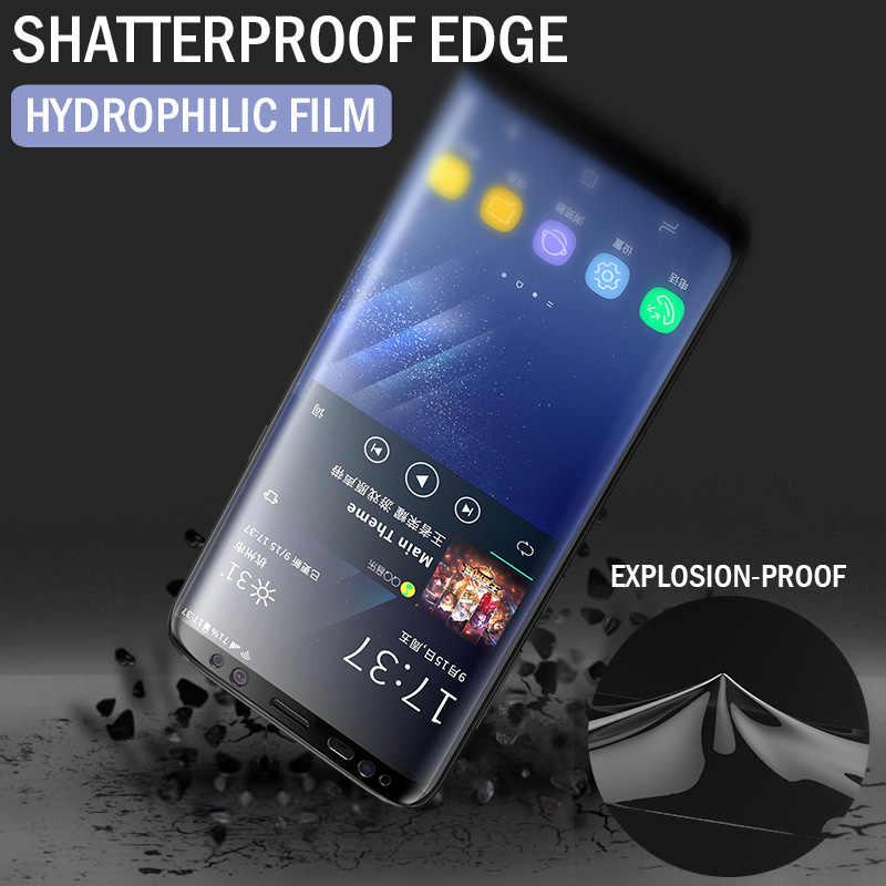 2 uds 100D Protector de pantalla para Samsung Galaxy S10 S9 S8 Plus A50 cubierta completa película suave para Samsung Note 10 8 9 A40 película no vidrio