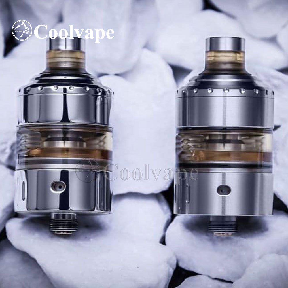 Coolvape The Hussar Project X MTL RTA 316ss RTA Rebuildable Atomizer 22mm Airflow Guide Flow Control Tank Vs The Hussar RTA V1.5
