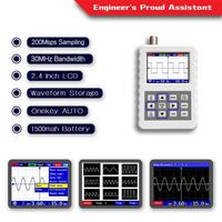 Nova alta qualidade 2031 h handheld pequeno osciloscópio digital portátil 30 m largura de banda 200 msps FNIRSI 2031H|Osciloscópios|Ferramenta -