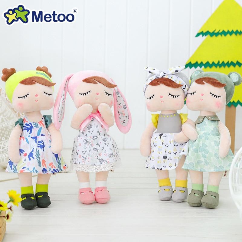 Кукла Metoo, мягкие игрушки, плюшевые животные, детские игрушки для девочек, детские плюшевые игрушки для мальчиков, Ангела Кролик, мягкие игру...