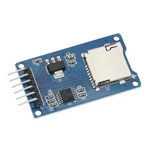 Image 3 - 100 Pcs 高品質の良いマイクロ Sd ストレージボード TF カードリーダーカードメモリシールドモジュールの Spi