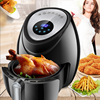 5L Air Fryer  Large Capacity Air Fryer Multi function Household Smoke free Electric Frying Pan Smart Touch Screen Fries Machine