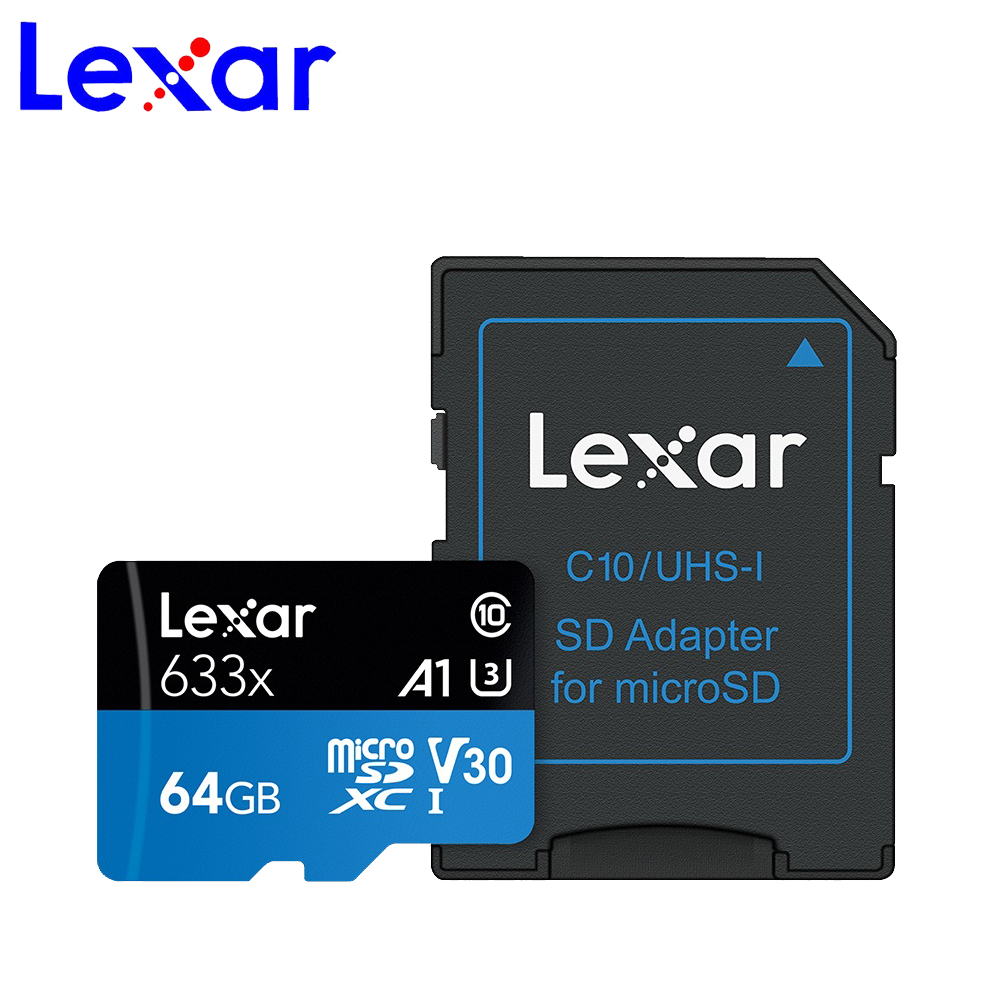 Lexar Memory Card SD 633x95M UHS-I Flash Micro Sd 512gb 1TB Microsd For Drone Gopro Sport Camera SDXC Store Card 32gb 64gb 128GB