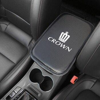 1 шт. автомобильные чехлы для подлокотников, чехлы для автомобильных сидений, Защитные чехлы для Toyota CROWN Prado rav4 Yaris hilux