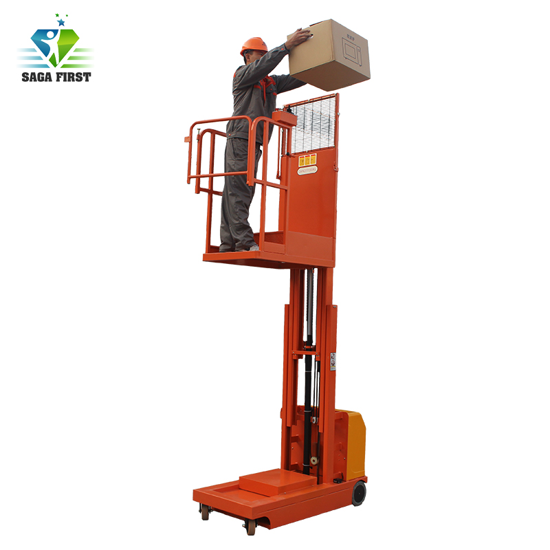 CE Certificated Hydraulic Electric Order Picker For Sale Material Delivery For Warehouse