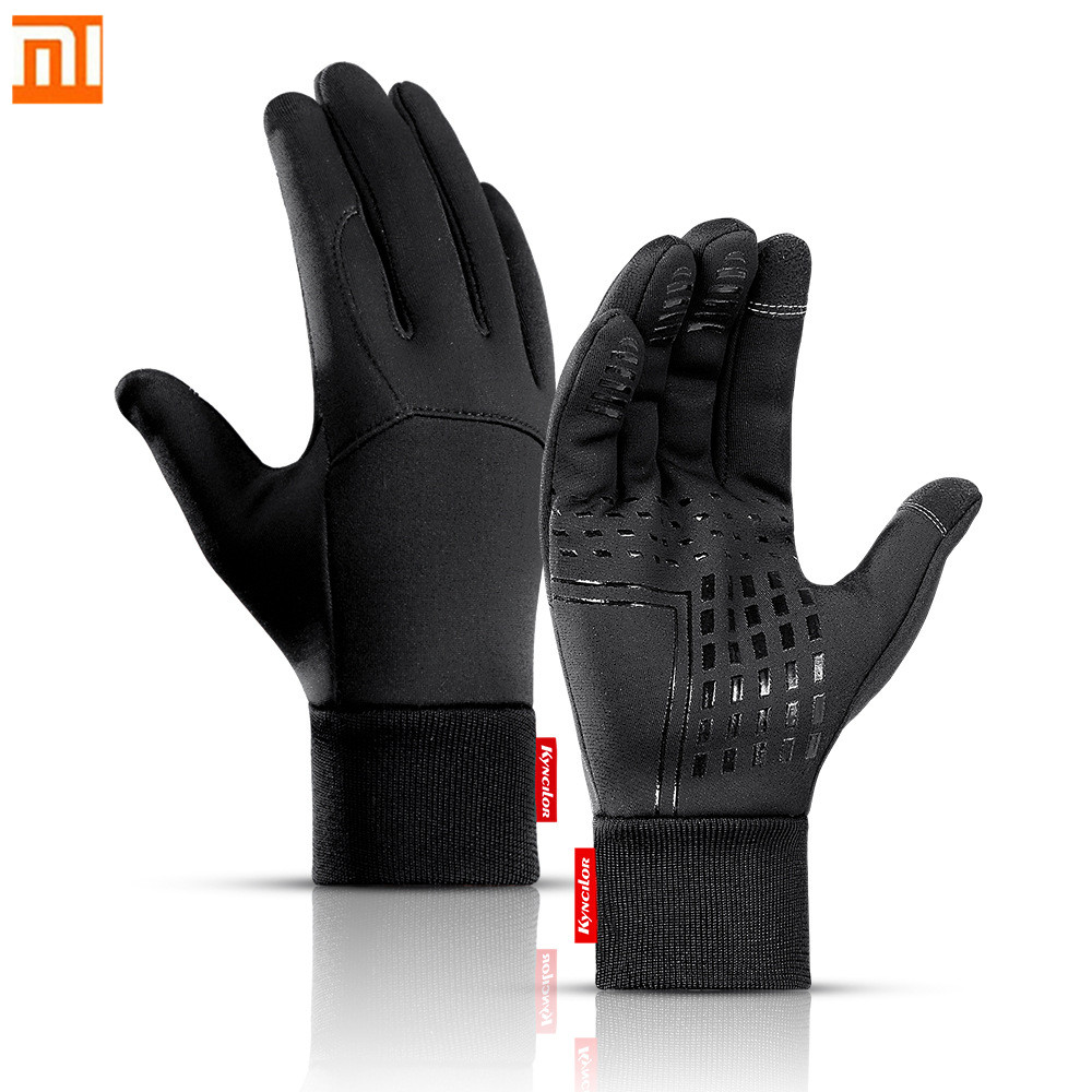 XiaoMi Mijia Warm Windproof Gloves Touch Screen Water Repellent Non-slip Wear-resistant Bicycle Riding Ski Sports Gloves