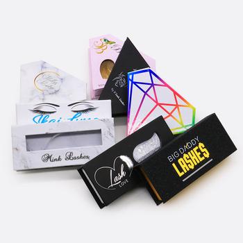 5 sztuk dopasowywane rzęsy pudełka do pakowania pudełko rzęsy pakiet dostosuj pudełka do przechowywania makijaż kosmetyczka fałszywe rzęsy z norek tanie i dobre opinie mangodot Pasek rzęsy Inne 1 cm-1 5 cm Eyelash Box Pełna strip lashes Naturalne długie Hand made 5Pcs Customize False Eyelashes Cases
