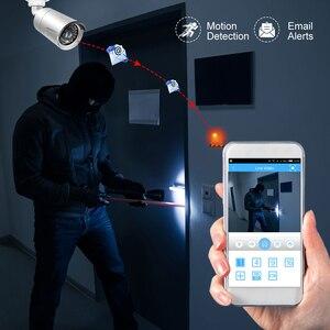 Image 3 - MISECU H.265 كامل HD 2MP 5MP الأمن الصوت IP كاميرا 1080P المعادن مقاوم للماء POE ONVIF رصاصة في الهواء الطلق CCTV كاميرا مراقبة