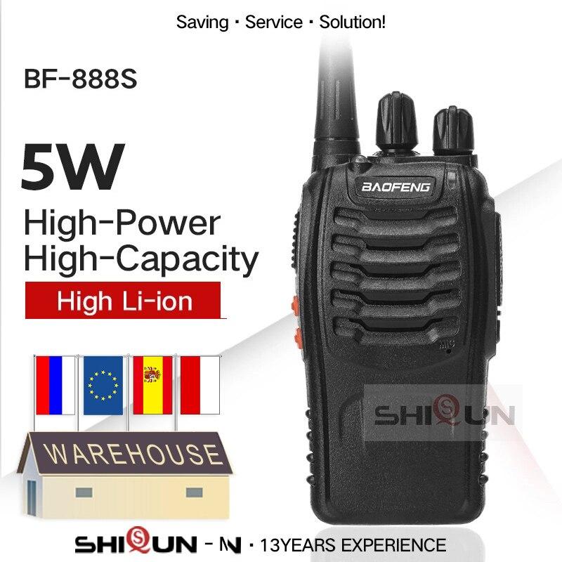 1/2/3/4/6 шт. Baofeng BF-888S UHF 400-470 МГц baofeng 888s дешевая двухсторонняя радиосвязь Baofeng bf888s удобная портативная bf 888s baofeng 888