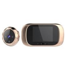 LCD Color Screen Digital Doorbell Infrared Motion Sensor Long Standby Night Vision HD Camera Outdoor Door Bell