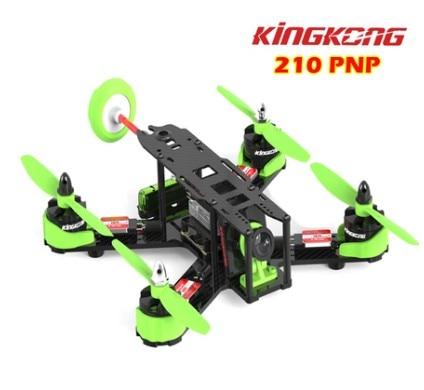 KINGKONG 210 PNP Fibra De Carbono Mini FPV Quadcopter F3 PLUS   200 MW 2204 MOTOR 12A ESC COMS CAMERA ANTENNA 10 Pares 5040