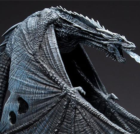 19cm Game of Thrones Nights King Viserion action figure toys collectors Christmas gift doll with box image