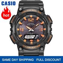 Casio Zegarek mężczyźni top marka luksusowy zestaw g shock 100m Wodoodporny Zegarek kwarcowy Sport LED cyfrowy Wojskowy mężczyźni oglądać g shock Solar Luminous zegarek do nurkowania relogio masculino reloj hombre AQS