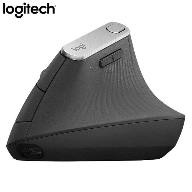 Logitech MX Vertical Bluetooth Mouse Wireless Ergonomic Mouse With Logitech FLOW 2.4GHz USB Nano 6