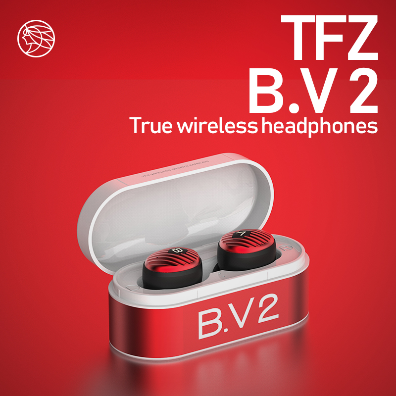 TFZ B.V2 TWS <font><b>Bluetooth</b></font> 5.0 Earphone Wireless Earphones IPX5 Waterproof Headset 3D Stereo Sound X1 X1E O5 T2 <font><b>S2</b></font> T3 KING PRO image