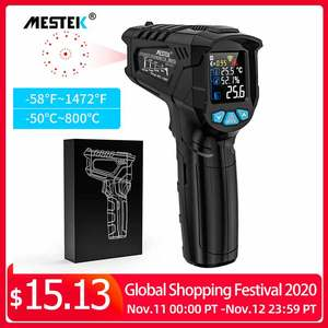 Image 1 - Digital Infrared Thermometer termometro infrarojo IR LCD Temperature Meter Non contact Laser Thermometers Pyrometer Hygrometer