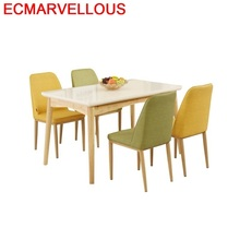 Redonda Dinning Tisch Manger Moderne Pliante A Langer Juego Shabby Chic Wooden Comedor Bureau Mesa De Jantar Desk Dining Table