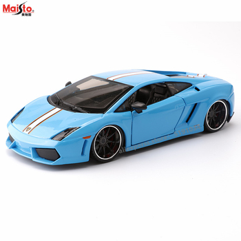 цена на Maisto 1:24 Lamborghini Gallardo Convertible alloy car model simulation car decoration collection gift toy