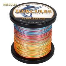 Рыболовная леска hercules 1000 м 9 нитей плетеная супер pe 10