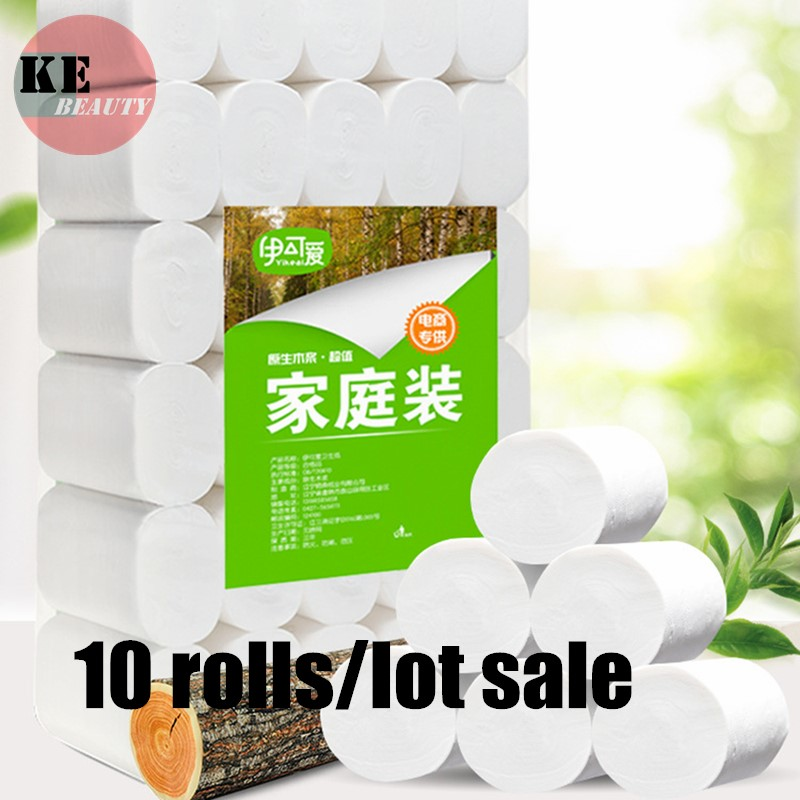 Fast Shipping High Quality 10 Rolls/lot Roll Paper Wall Mount Toilet Paper Holder Stainless Steel Bathroom Tissue Roll