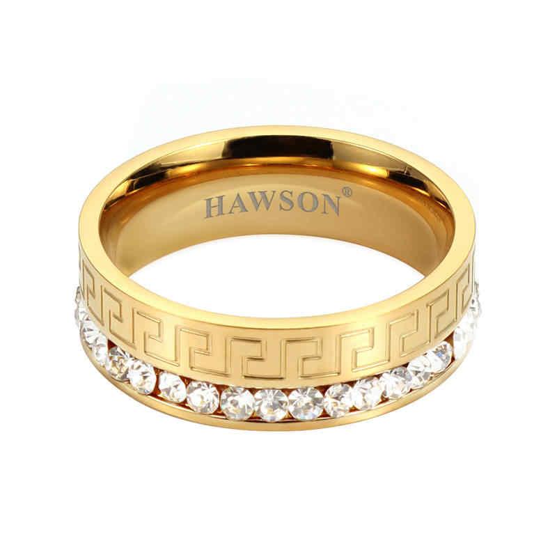 HAWSON עניבה טבעת עבור גברים של עניבת אופנה אבזר