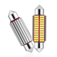 1x C5W Car LED Bulb CANBUS Interior Light Festoon LED 12V Super Bright Auto Reading License Trunk Luggage Lamp 31mm 36mm 39mm|Signal Lamp|Automobiles & Motorcycles -