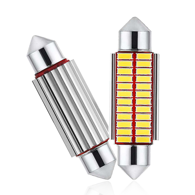 2x C5W Car LED Bulb CANBUS Interior Light Festoon LED 12V Super Bright Auto Reading License Trunk Luggage Lamp 31mm 36mm 39mm