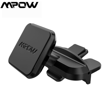 Mpow 098A Universal CD Slot Car Mount Stand Easy Installation Car Phone Holder 360 Degree Rotatable Magnetic GPS Holder For Car