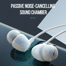 3.5 Mm In-Ear Wired Earphone Earbud Earphone Musik Sport Gaming Headset dengan MIC untuk iPhone Xiaomi Samsung Huawei stereo(China)