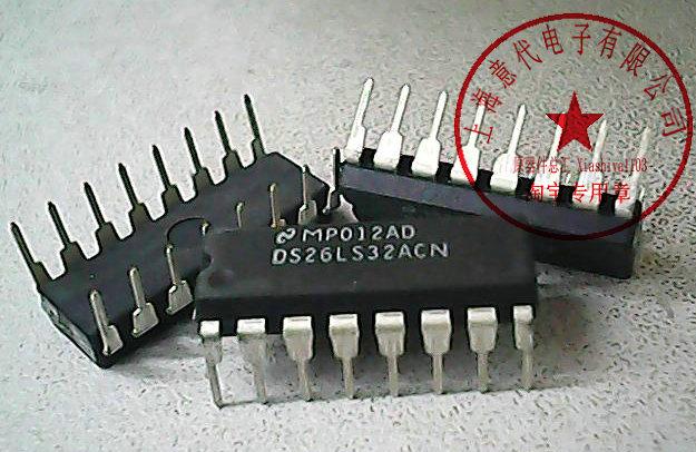 5PCS DS26LS32ACN DIP Quad Differential Line Receivers