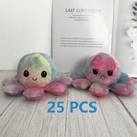 25pcs Reversible Octopus Plush Toys VIP