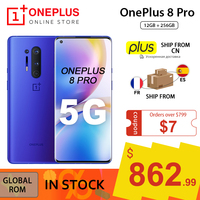 Global Rom Oneplus 8 Pro 5G Smartphone Snapdragon 865 12Gb 256Gb 6.87 ''120Hz Vloeistof Screen 48MP Quad Cams 30W Draadloos Opladen