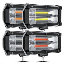 72w фары для автомобиля грузовика Белый cob рабочий светильник