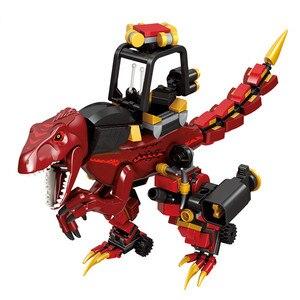 Figuras de acción de dinosaurios Jurassic, figuras de acción en el mundo de Dragon Knight, 272 Uds.