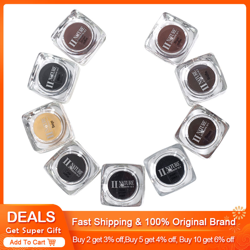 PCD Microblading Pigment Permanent Makeup Ink Eyebrow Tattoo Ink Set 10ML 8Colors/lot  Lip Microblading Pigment Professional