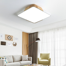 Nordic Macaron color square atmosphere bedroom study living room LED ceiling lamp modern minimalist lamps