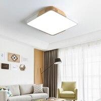 Nordic macaron cor quadrado atmosfera quarto estudo sala de estar conduziu a lâmpada do teto lâmpadas modernas e minimalistas