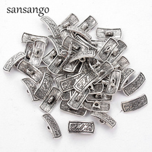 Metal Sewing Buttons Garment DIY Accessories Hat High Heels Square Shape Button Ancient Silver Clothes Tools Decorative 25pcs anchor urea button with four eye buttons retro fire button diy crafts clothing sewing accessories