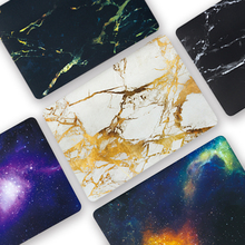 PVC Coque for Macbook Air 11 13 Pro Retina 12 15 Touch bar ID 2016 2018 Marble Galaxy Hard Laptop Case A1466A1932 A1706 A1707