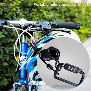 Combination Lock Riding-Equipment Bicycle Mountain-Bike Code Mtb-Anti-Theft 4-Digit