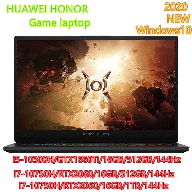 Honor hunter v700 gaming portátil 16.1 polegada inter core i5-10300H/i7-10750H nvidia gtx1660ti/rtx2060 windows 10