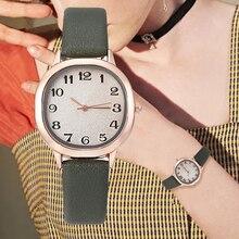 2020 New Luxury Leather Strap Quartz Watches for Women Stylish Top Brand Fashion Casual Wrist Watch Ladies reloj mujer