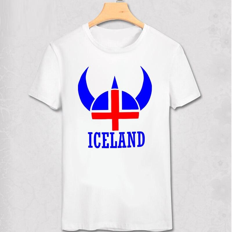 Исландский шлем викинга Футболка с принтом Футболка с викингом крутой человек хлопок короткая модная футболка мужская одежда верхняя одеж...