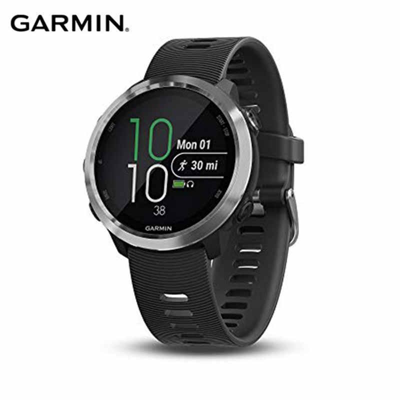 Asli GPS Smart Watch Garmin Forerunner 645, gps Running Membayar Pembayaran NFC Berbasis Pergelangan Tangan Heart Rate Monitor Smartwatch Pria