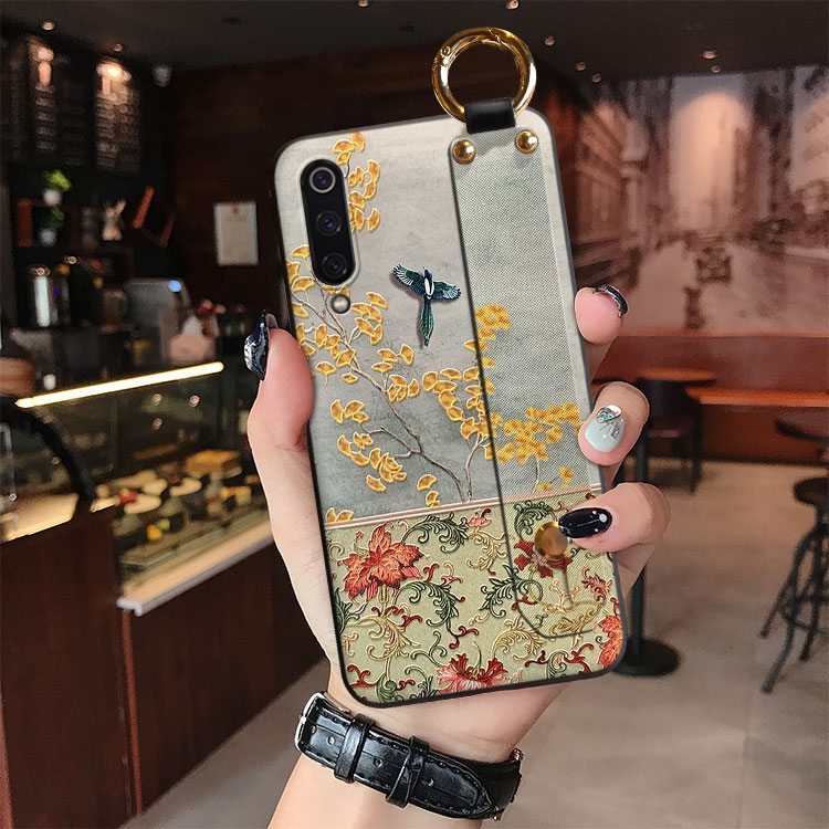 3D Relief Case For Samsung Galaxy S20 Ultra S20 Plus S10 S9 S8 Plus Note 10 5G 9 8 Cover Hand Band Holder Retro Embossed Funda