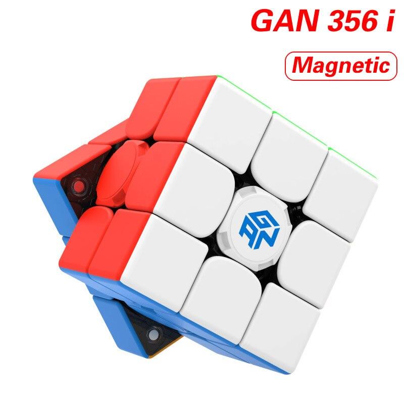 Оригинал, высокое качество, GAN 356 i, 3x3x3, Умный Магнитный магический куб, 3x3, 356i, магниты, скоростная головоломка, рождественский подарок, идеи, д...