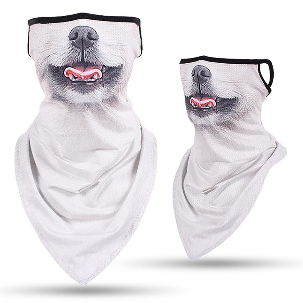 3D nyomtatás állatokkal unisex túra sálak fejfedők fülhorog - Kemping és túrázás - Fénykép 2