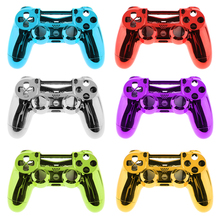 Chrome Plating Front Housing Shell Faceplate For PS4 Pro Controller Perfect replacement Chrome plating surface