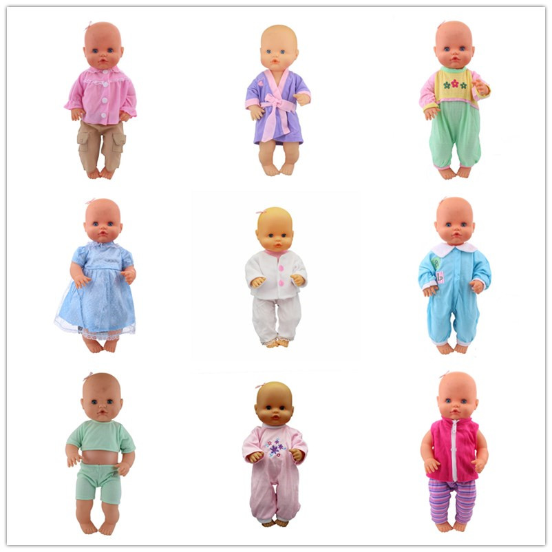 New Pajamas Clothes Fit 35 cm Nenuco Doll Nenuco y su Hermanita Doll Accessories
