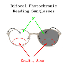 Gafas de sol fotocromáticas bifocales para presbicia, para mujeres y hombres, gafas de lectura, lupa con aspecto lejano, gafas para hipermetropía N5